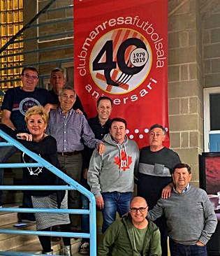 Manresa FS » El Manresa FS presenta el logotip del 40è aniversari i els actes de celebració